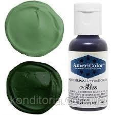 Краситель гелевый Америколор (Americolor) Кипарис (Cypress) № 140