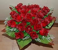 """М-547 Букет троянд """"Діана"""" 24 голови 40х8 см, фото 1"""