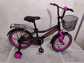 """Детский велосипед Crosser Rocky 18"""" розовый, фото 2"""