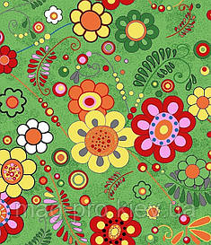 Детский ковролин с Цветочками