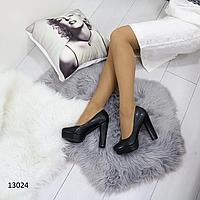 """Женские туфли на устойчивом высоком каблуке и платформе """"Кенда"""""""