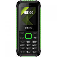 Мобильный телефон Sigma mobile X-style 18 Track (Black/Green)