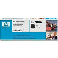 Лазерный картридж HP C9700A черный (№121А) оригинальный