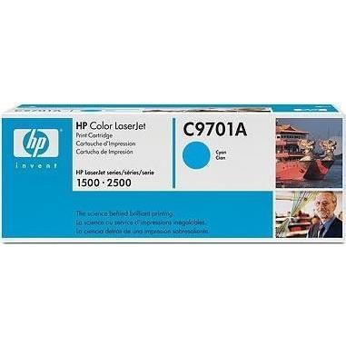 Лазерный картридж HP C9701A голубой (№121A) оригинальный