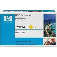 Лазерный картридж HP C9722A Желтый (641A) HP Color LaserJet 4600/4650 оригинальный