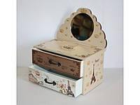 Шкатулка деревянная  1003-19