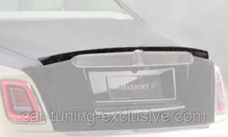 MANSORY rear decklid spoiler for Rolls-Royce Phantom VIII