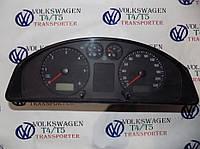 Щиток прибора Спидометр Панель приборов VW Volkswagen t5 Фольксваген Тransporter Т5 2003-2010