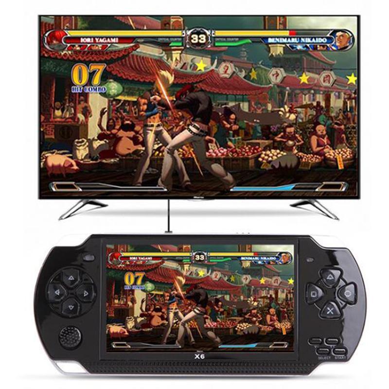 Портативная приставка, консоль PSP MP5 X6 9999 ИГР 8 ГБ