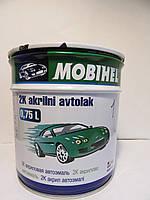 Белый Газ автоэмаль акриловая Mobihel  0,75 л. цена без отвердителя