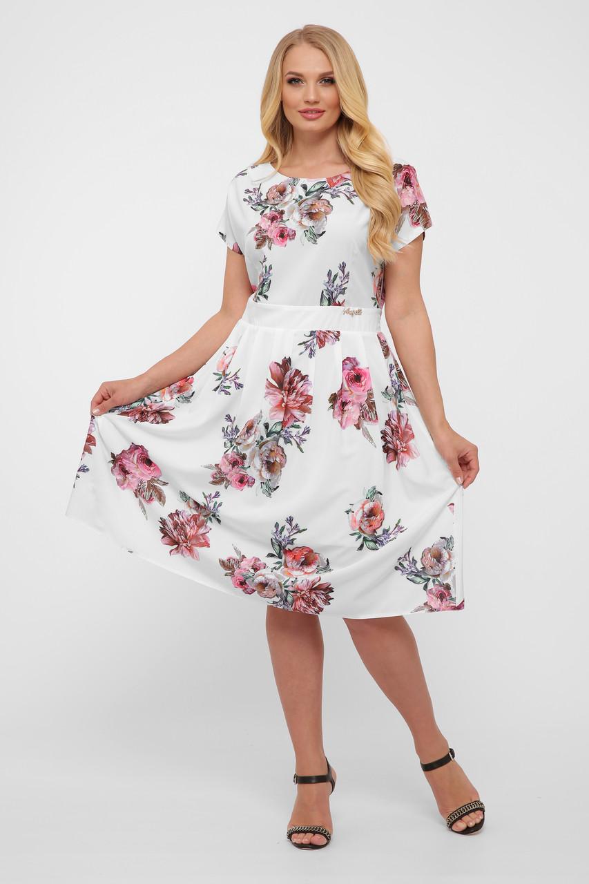 Плаття літнє Лорен біле
