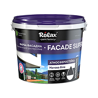 Краска акриловая фасадная Rolax Fasad, 7 кг Rolax