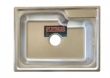 Мойка из нержавеющей стали 08мм Platinum 5845  decor, фото 2