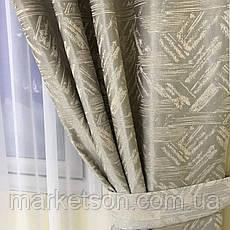 Готовые шторы Турецкий лен для спальни или гостинной 1,5х2,7, фото 3