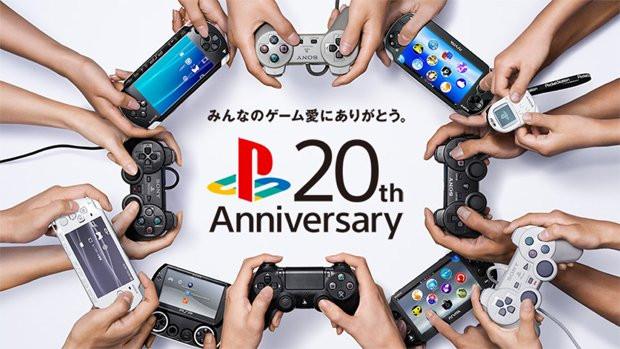 Sony PlayStation 1 празднует свой 20-тилетний юбилей!