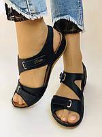 Супер комфорт! Жіночі шкіряні босоніжки .Розмір 36 38.40.41.Туреччина Магазин Vellena, фото 3