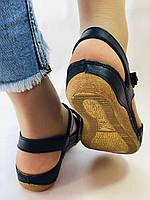 Супер комфорт! Жіночі шкіряні босоніжки .Розмір 36 38.40.41.Туреччина Магазин Vellena, фото 8