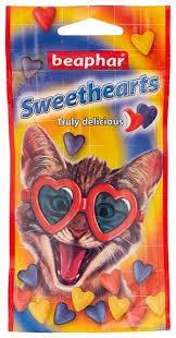 Лакомство для кошек и котят Beaphar Sweethearts 150 шт.