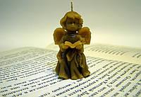 """Форма для свечей """"Ангел с книгой"""""""