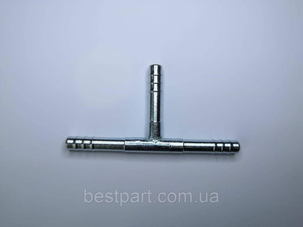 Фітінг №6, з'єднувальний трійник, сталь