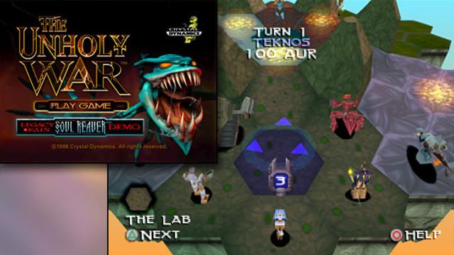 Unholy war playstation game
