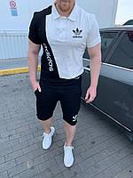 Спортивный костюм мужской летний футболка и штаны размеры с м л хл ххл Новинка 2020 есть цвета