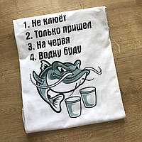 Печать принтов на футболках на подарок