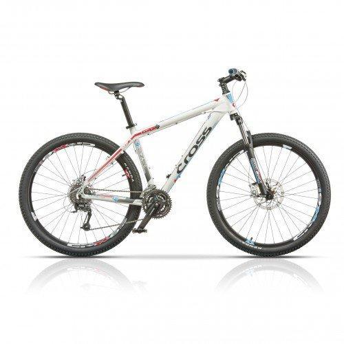 "Велосипед 27.5"" CROSS GRX 8 24 spd рама 18"" 2015 белый"