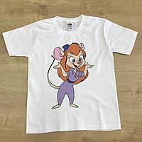 Печать принтов на детских футболках