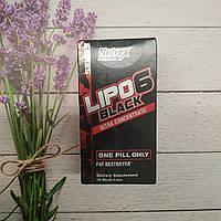 Жиросжигатель Lipo-6 Black Ultra Concentrate Nutrex 60 caps