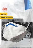 РЕСПИРАТОР С КЛАПАНОМ 3М К112 FFP2 (упаковка 10шт) защитная маска 2 СТЕПЕНЬ ЗАЩИТЫ медицинская