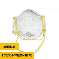 Респиратор NITRAS 4110 FFP1 (упаковка 10шт) с клапаном, Маска защитная медицинская