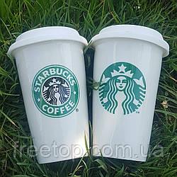 "Чашка Starbucks белая ""Eco Life"" 350 мл"