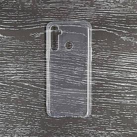 Чохол накладка для Realme 5 RMX1927 силіконовий, Air Case, Прозорий