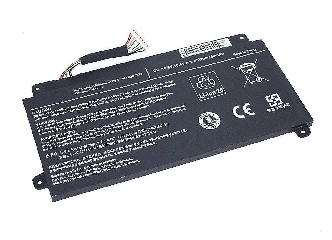 Аккумуляторная батарея для ноутбука Toshiba 5208-3S1P Satellite E45 10.8V Black 4160mAh OEM