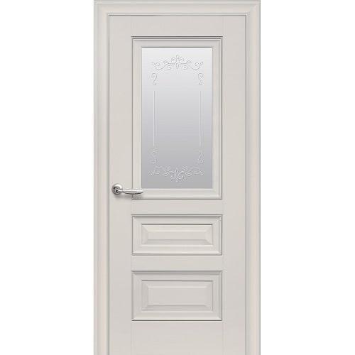 Дверное полотно Статус молдинг, стекло (магнолия)