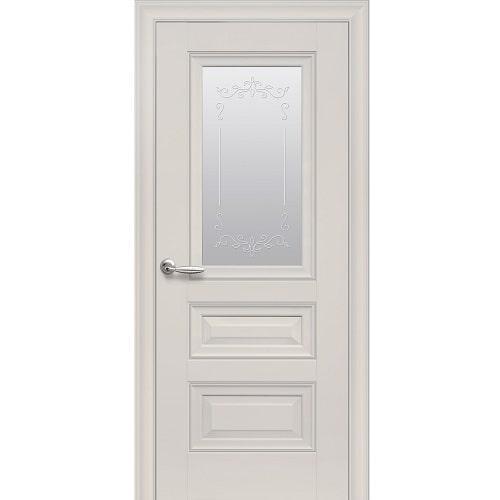 Дверное полотно Статус стекло (магнолия)