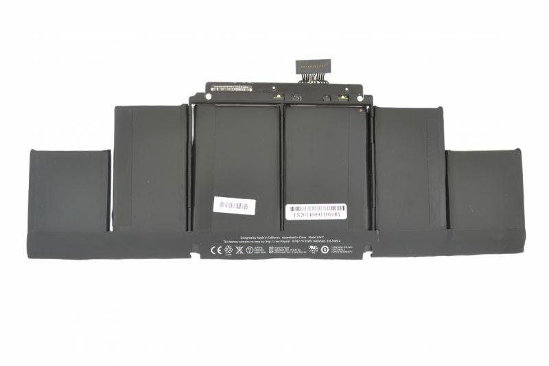 Аккумуляторная батарея для ноутбука Apple A1417 MacBook Pro 15-inch Retina A1398 10.95V Black 8460mAh Orig
