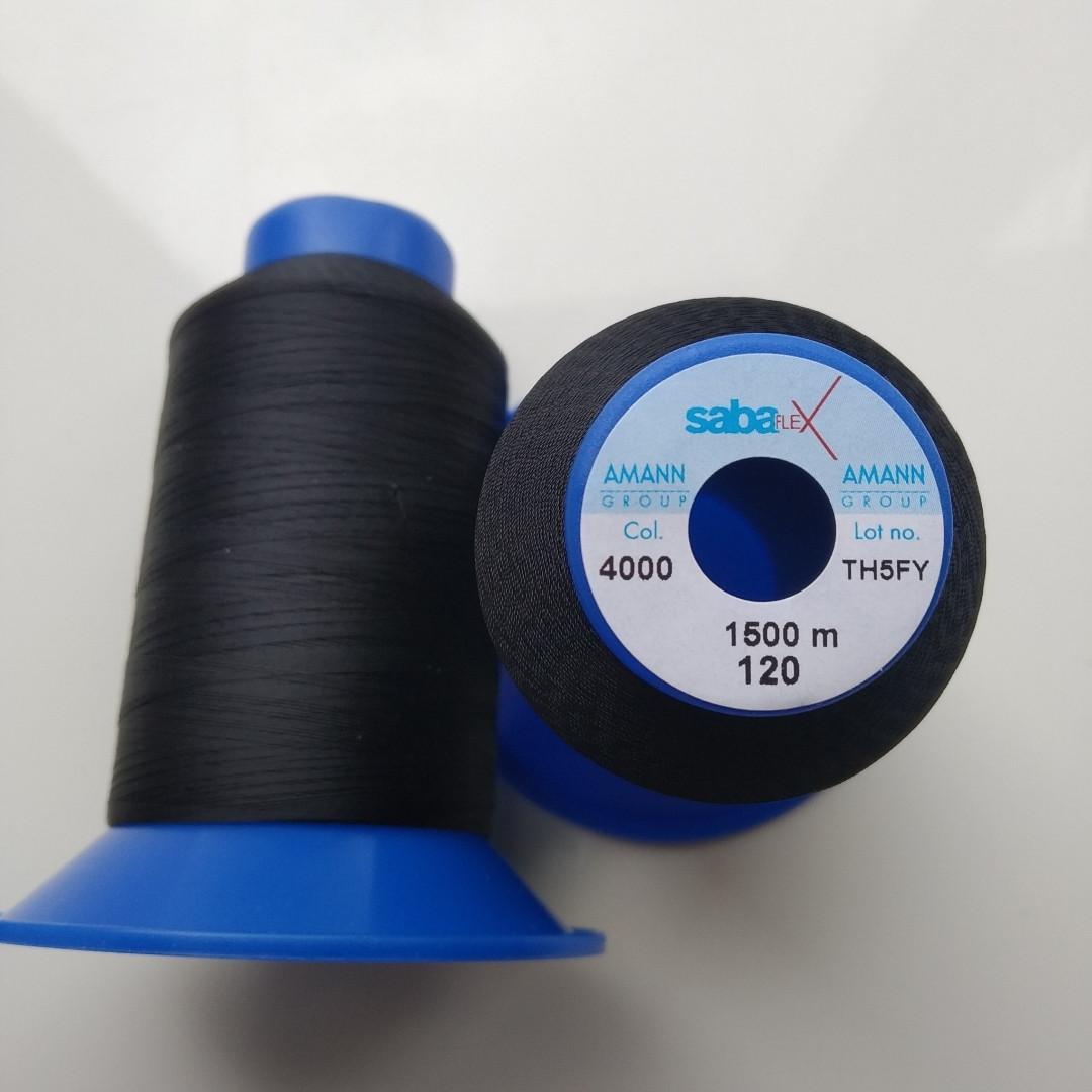Amann sabaflex 120/1500м /4000 чорний