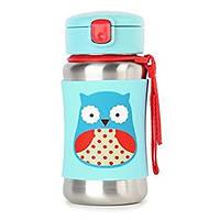 Термопоильник Skip Hop Owl Сова детский термос с трубочкой