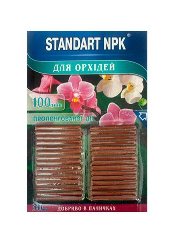 Удобрение для цветущих (палочки) standart npk 30шт