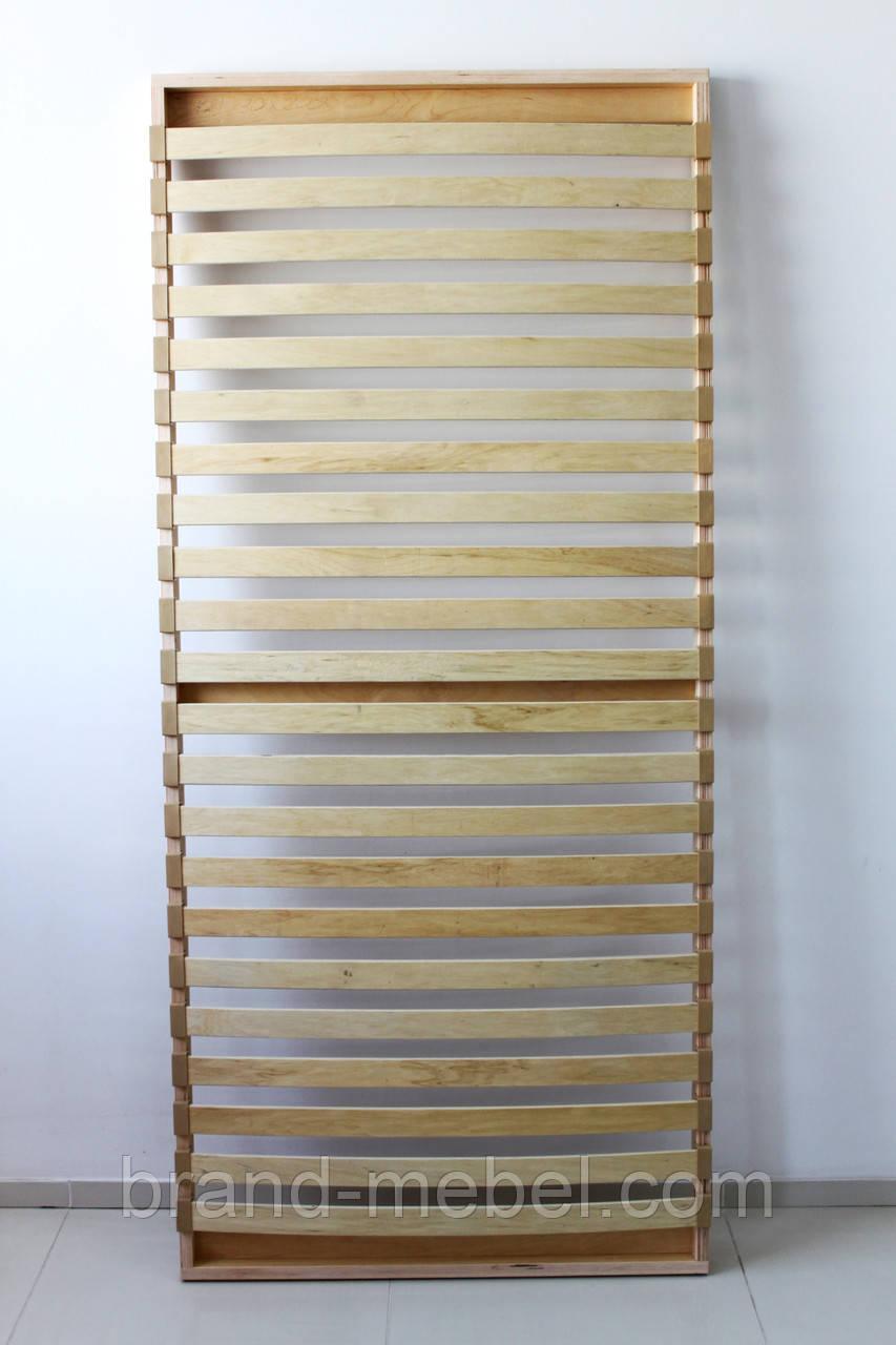 Каркас ліжка дерев'яний розбірний 190*80см