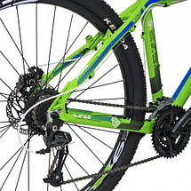 "Велосипед 29"" CROSS GRX 8M 24 spd рама 18"" 2015 зеленый, фото 3"