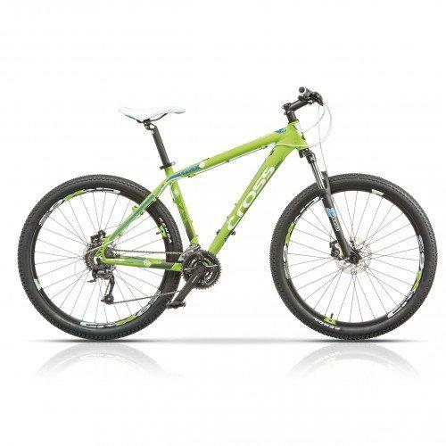 "Велосипед 29"" CROSS GRX 8M 24 spd рама 18"" 2015 зеленый"