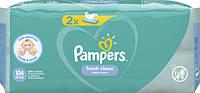 Детские влажные салфетки Pampers Fresh Clean, 104 шт.