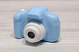 Детская камера, Детский цифровой фотоаппарат, Kids Camera с дисплеем  2.0 3Mpx, 1080P HD F3 Blue SKL25-223377, фото 2