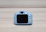 Детская камера, Детский цифровой фотоаппарат, Kids Camera с дисплеем  2.0 3Mpx, 1080P HD F3 Blue SKL25-223377, фото 5