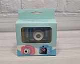 Детская камера, Детский цифровой фотоаппарат, Kids Camera с дисплеем  2.0 3Mpx, 1080P HD F3 Blue SKL25-223377, фото 10