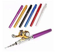 Карманная складная походная мини удочка - ручка Fish Rod + Подарок