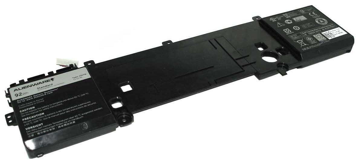 Оригинальная аккумуляторная батарея для ноутбука Dell 191YN Alienware 15 R1 14.8V Black 6000mAh